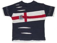Tiny Ted, Angol zászlós póló