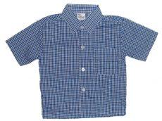 Kék, kockás ing
