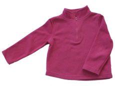 Rózsaszín, polár pulóver