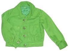 Fűzöld átmeneti kabát