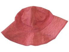 Virágos, hímzett, nyári kalap